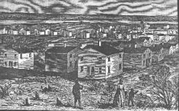 Freedman's Village as it appeared in Harper's Weekly in May 1864.