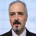 Bashar al-Ja'afari, Syria's Ambassador to the United Nations.