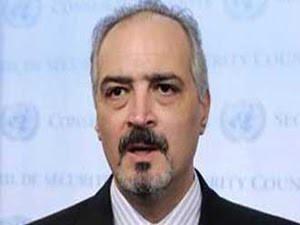 Bashar al-Ja'afari, Syria's Ambassador to the United Nations.