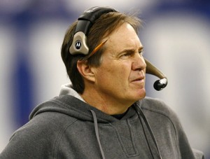 New England Patriots coach Bill Belichick.