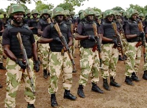 Nigerian Army Special Forces.