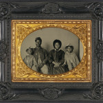 A Civil War-era African-American soldier and his family. (Photo credit: Encyclopedia Virginia)