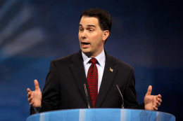 Wisconsin's Republican Gov. Scott Walker (Photo credit: Gage Skidmore)