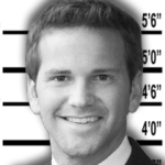 Rep. Aaron Schock, R-Illinois, as pictured in CREW's list of the most corrupt members of Congress.