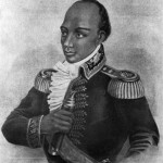 Toussaint L'Ouverture, leader of Haiti's slave rebellion against France.