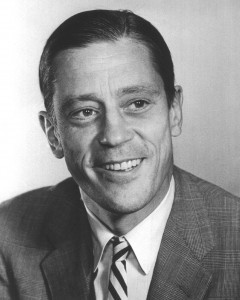 Ben Bradlee early in his career. (Photo credit: Washington Post)