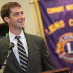 Sen. Tom Cotton, R-Arkansas, while campaigning in 2014.