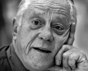 The Washington Post's Ben Bradlee in his later years. (Photo credit: Washington Post)