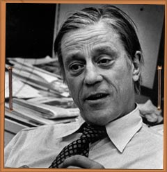 Longtime Washington Post executive editor Ben Bradlee.