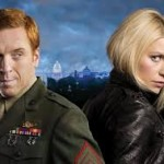 "The two lead characters in Showtime's original ""Homeland"" series, Sgt. Nicholas Brody (Damian Lewis) and CIA officer Carrie Mathison (Claire Danes)."
