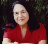 Dolores Huerta, co-founder of the United Farm Workers and a longtime activist for social justice.