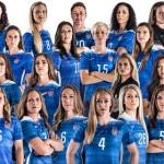 U.S. Women's National Team (Soccer), winners of the 2015 World Cup. (Via Twitter.)