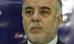 Iraqi Prime Minister Haidar al-Abadi.