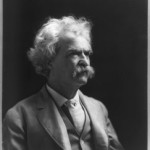 Author Samuel Clemens, better known as Mark Twain.