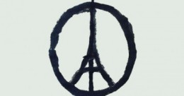 Peace for Paris symbol.