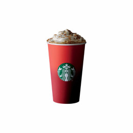 Starbucks' winter-themed cup.
