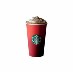 Starbucks' winter-themed cup.