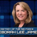 Air Force Secretary Deborah Lee James.