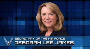 Air Force Secretary Deborah Lee James.