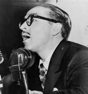 Screenwriter Dalton Trumbo.