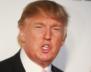 Republican presidential nominee Donald Trump.