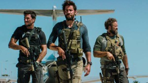 A scene from the movie, Thirteen Hours, about the fatal clash between Libyan jihadists and U.S. security personnel around the U.S. consulate in Benghazi on Sept. 11, 2012.