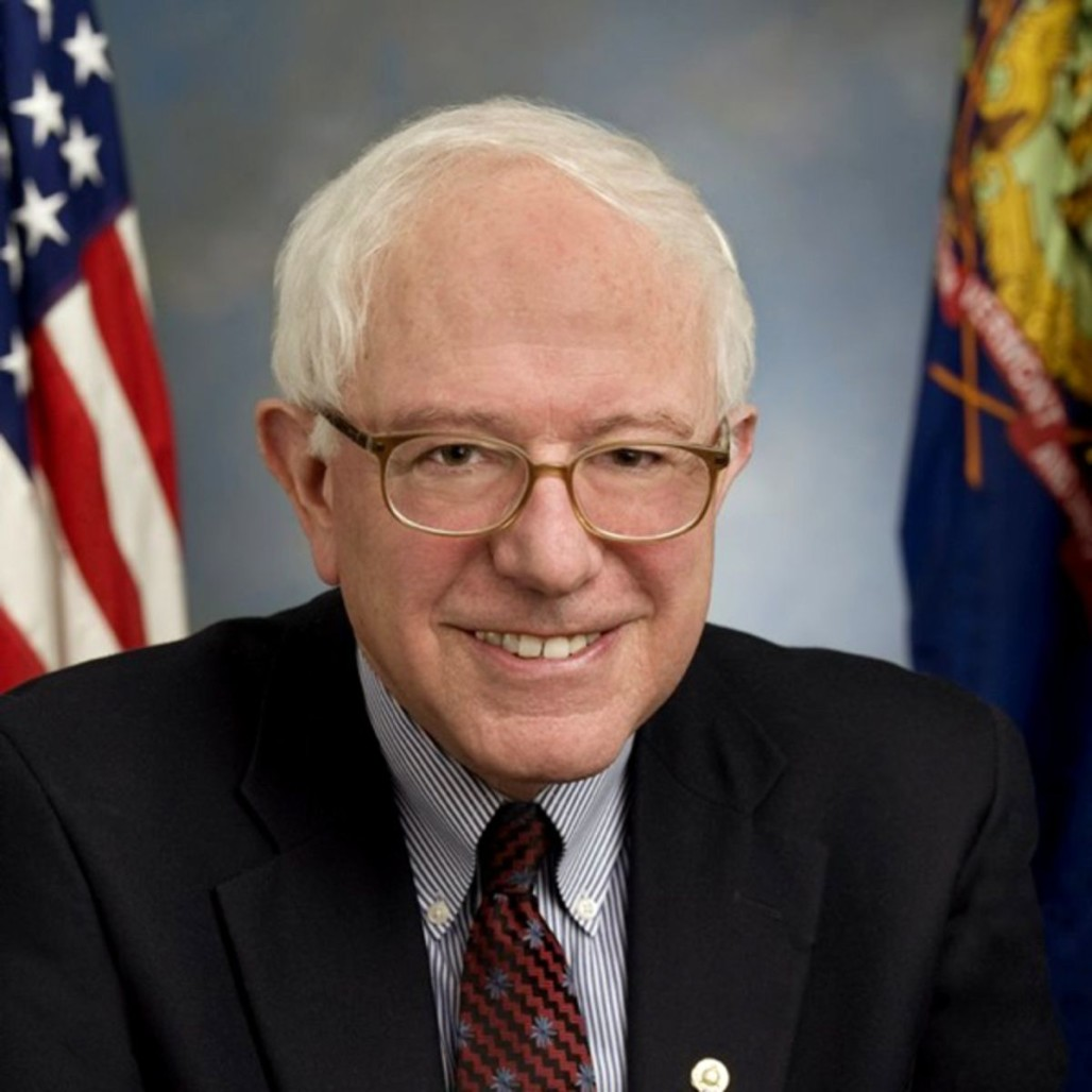 Sen. Bernie Sanders, I-Vermont, who is seeking the Democratic presidential nomination.