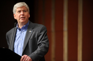 Michigan's Republican Gov. Rick Snyder.