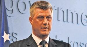 Kosovo Foreign Minister Hashim Thaci.