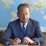 United Nations Secretary-General Dag Hammarskjöld. (Photo from Wikipedia)