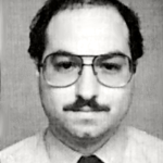 Convicted Israeli spy Jonathan Pollard in the photo from his U.S. Naval Intelligence ID.