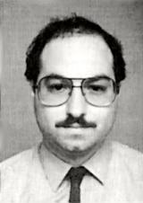 Convicted Israeli spy Jonathan Pollard in the photo from his U.S. Naval Intelligence ID.