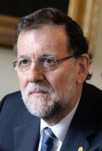 Spain's Prime Minister Mariano Rajoy.  (Photo from Wikipedia)