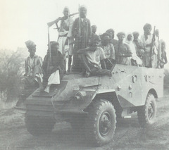 A scene from the North Yemen Civil War of the 1960s.
