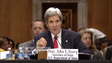 Secretary of State John Kerry testifying before the Senate Foreign Relations Committee on April 8, 2014. (Screenshot from foreign.senate.gov)