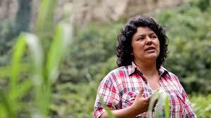 Slain Honduran environmental activist Berta Caceres.