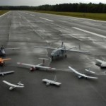 "A collection of ""unmanned aerial vehicles"" or military drones. (Photo credit: U.S. Navy, by Photographer's Mate 2nd Class Daniel J. McLain )"