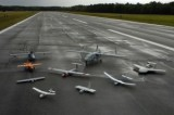 """A collection of """"unmanned aerial vehicles"""" or military drones. (Photo credit: U.S. Navy, by Photographer's Mate 2nd Class Daniel J. McLain )"""