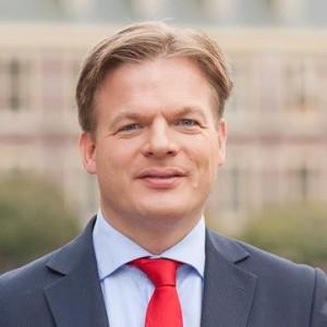 Dutch parliamentarian Pieter Omtzigt.