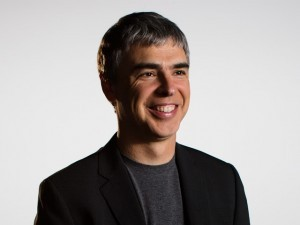 Google CEO and co-founder Larry Page.