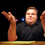 Performer Mike Daisey (Photo from mikedaisey.blogspot.com)