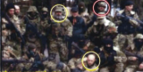 Photograph published by the New York Times purportedly taken in Russia of Russian soldiers who later appeared in eastern Ukraine. However, the photographer has since stated that the photo was actually taken in Ukraine, and the U.S. State Department has acknowledged the error.