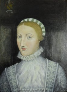 Portrait of Ann Hathaway, William Shakespeare's wife.
