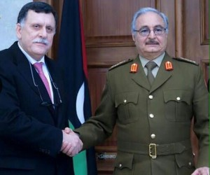 "Immediately after being selected as Prime Minister of the U.N./U.S.-arranged ""unity government"" Fayez Sirraj reached out to Gen. Kahlifa Haftar on Jan. 30, 2016, a move that infuriated U.S. officials who favored isolating Haftar."
