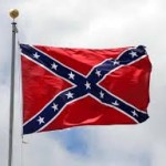 The Confederate battle flag, seen by many around the world as a symbol of white supremacy.