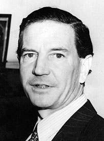 British double-agent Kim Philby, who spied for the Soviet Union and fled to Moscow in 1961.