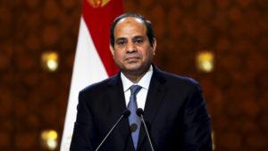 Egyptian President Abd Al-Fattah Al-Sisi