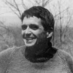 Anti-war activist priest Daniel Berrigan.