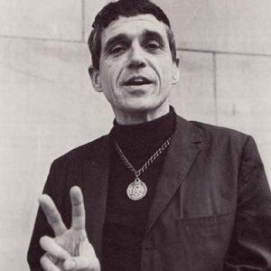 Anti-war priest Daniel Berrigan.