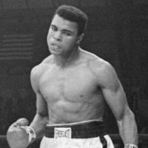 Heavyweight boxing champion Muhammad Ali.